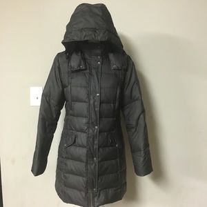 Cole Haan Quilted Hooded Parka Puffer Winter Coat
